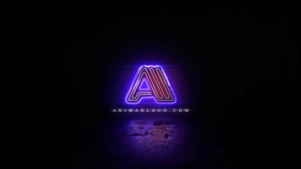 Logo-animado-Neon-AL313-imagen-animarlogo