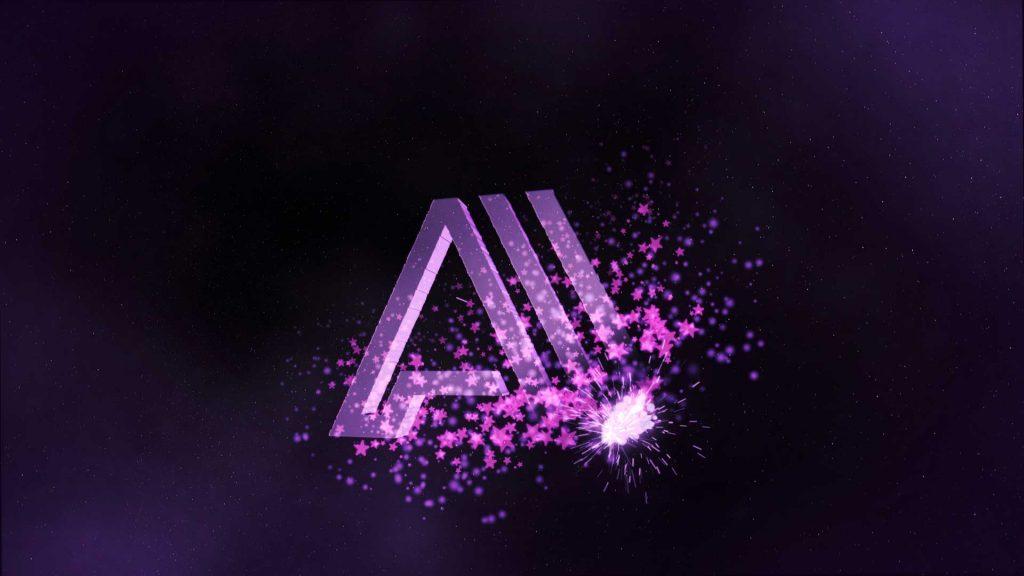 Felicitación-de-Navidad-Logo-Estrellas-AL043-animacion-logotipo