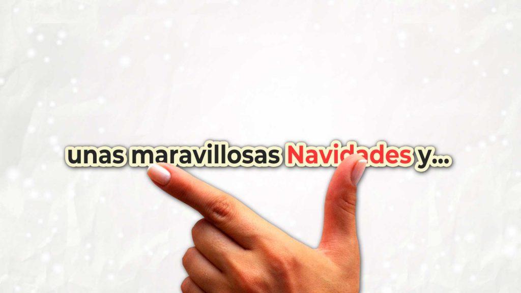 Felicitación-de-Navidad-Mano-textos-AL045-animacion-logotipo