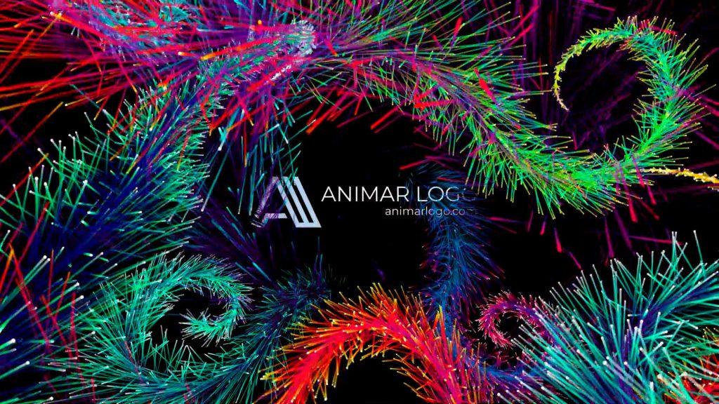 Felicitación-de-Navidad-Ramas-Colores-AL048-animacion-logotipo