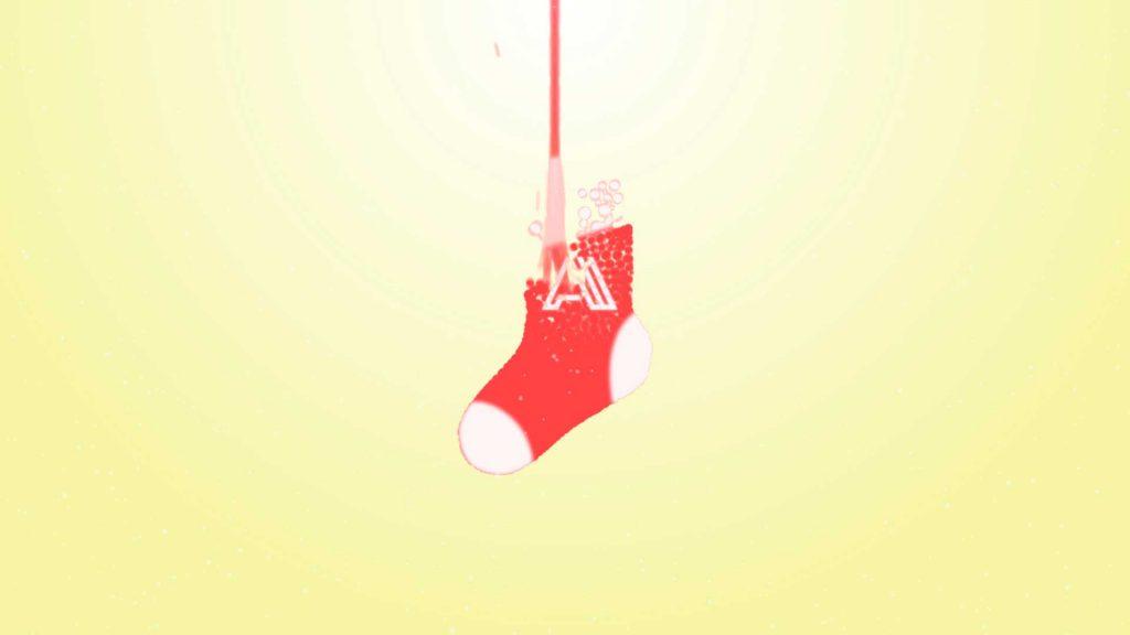 Felicitacion-de-navidad-Calcetín-de-Bolas-AL035-animacion-logotipo