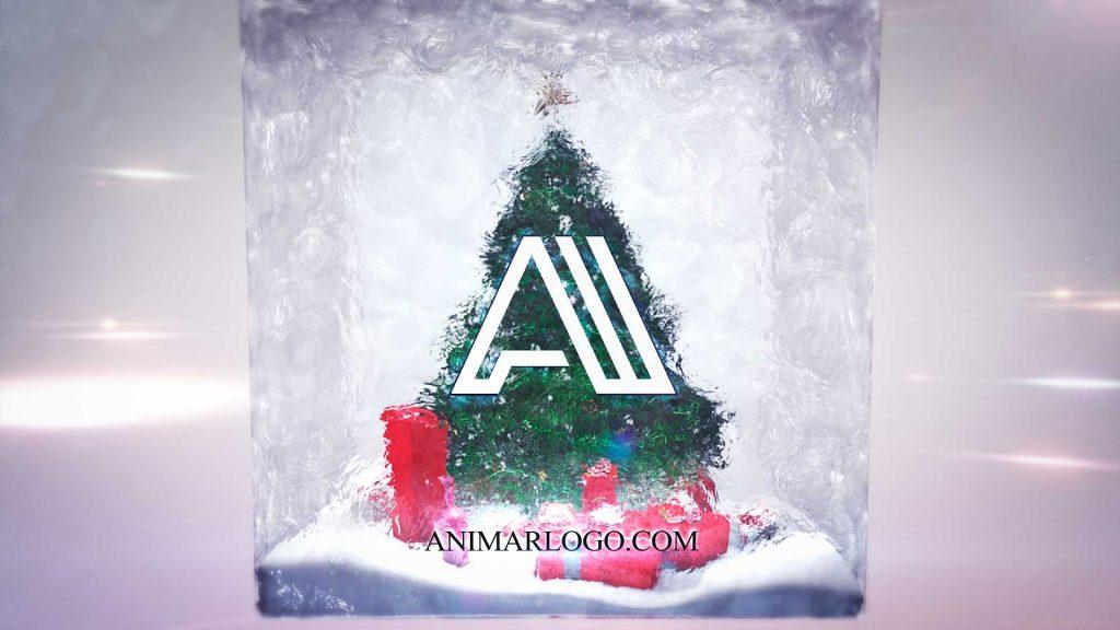 Felicitacion-de-navidad-Cubo-Árbol-AL024-animacion-logotipo
