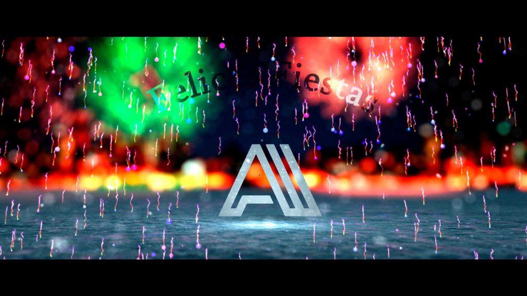 Felicitacion-de-navidad-Fuegos-Artificiales-AL028-animación-logotipo