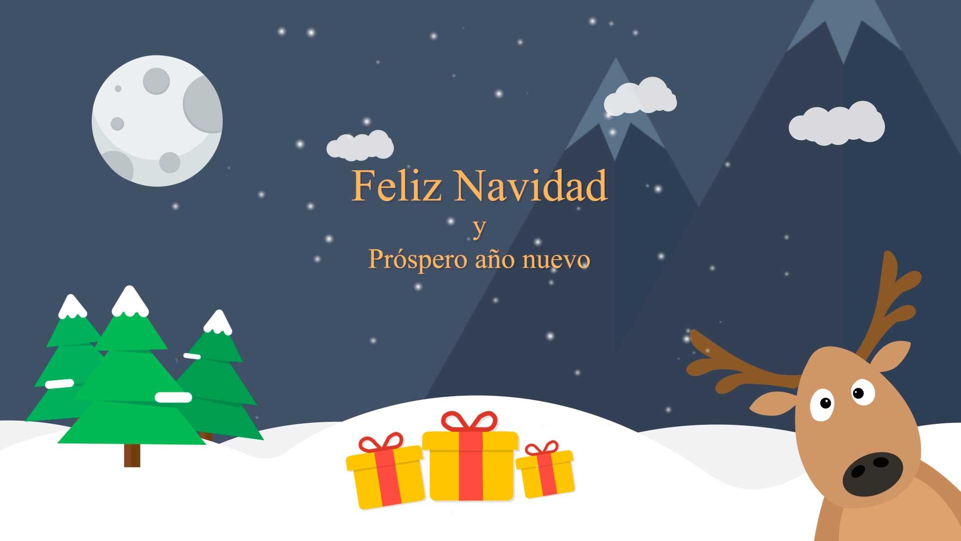 Felicitacion-de-navidad-Postal-AL021-animación-de-logotipo