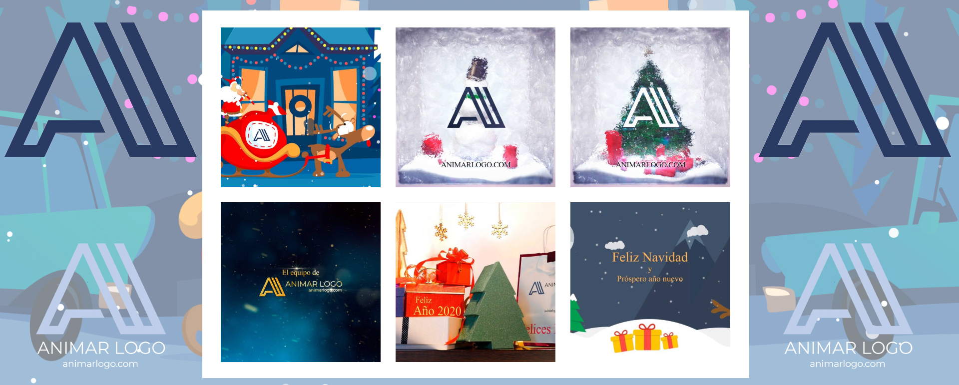 Especial Navidad Felicitaciones personalizadas desde tan solo 99 euros AnimarLogo animar logo facebook